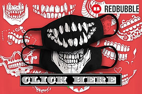 Skull Face Mask Ruftup Designs Design.jp