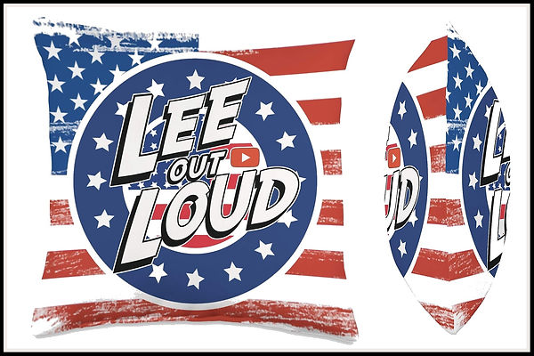 Lee Out Loud Throw Pillow American Pride