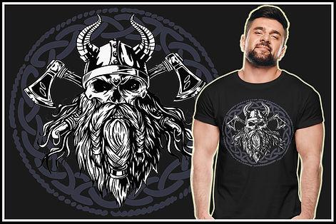 Viking Double Axe Biker Zombie Ruftup De