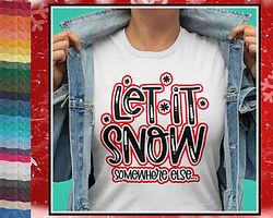 Let It Snow, Somewhere Else...