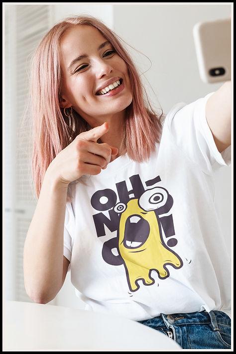 oh No Super Cute Kawaii Goo Monster Bana