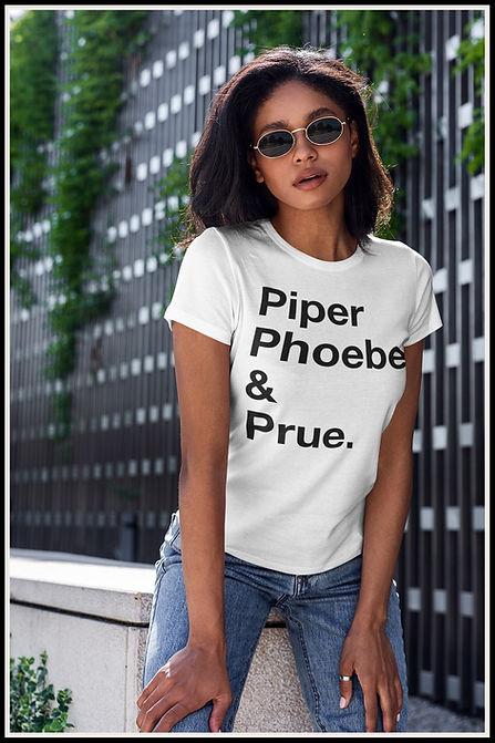 Piper Phoebe & Prue Black Out Ruftup Des
