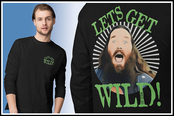 Long Sleeved Tshirts Front & Back Wild Ed Pocket Motif Green Ed Ruftup designs website Moc