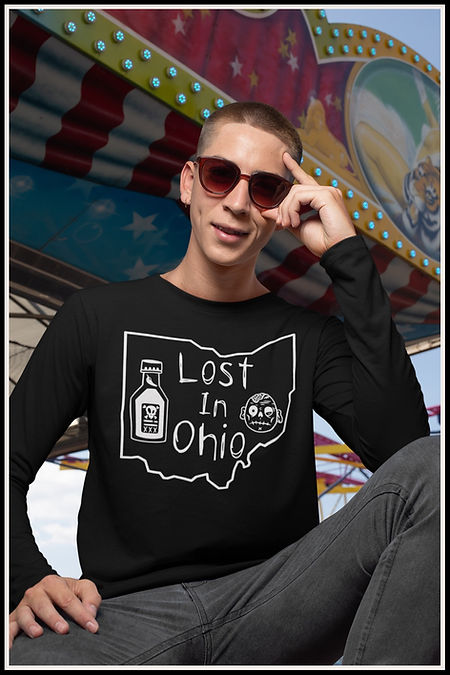 Web Long Sleeved T-Shirt Lost In Ohio Cl