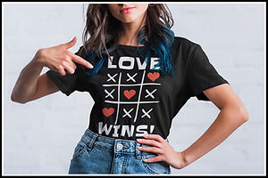 Love Wins Noughts And Crosses Edition Wh