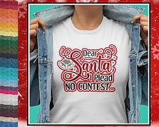 Dear Santa I Plead No Contest