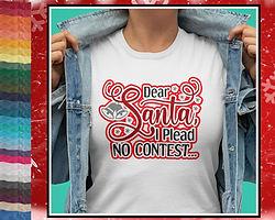 Dear Santa, I Plead No Contest