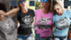 Nothing to lose but your mind fun design release from Ruftup designs Showing beautiful Female Models wearing tshirts