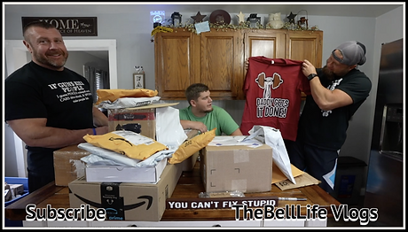 Bell Mail 46 - Daddy Gets It Done Tshirt Opening from ruftup.com