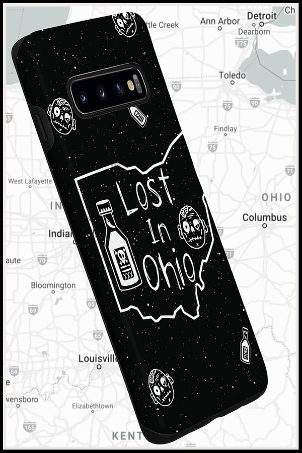 Web Samsung Mobile Phone Case Lost In Oh