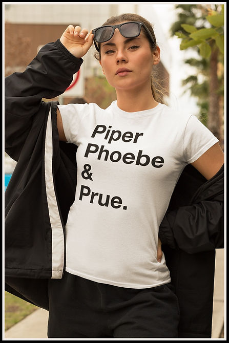 Piper Phoebe & Prue Black Out Ruftup Des