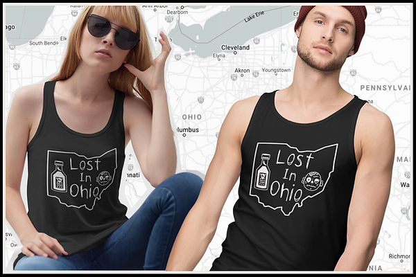 Lost In Ohio Classic Tank Top Gym Vest.j