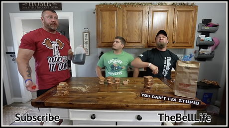 10 Minute Cinnamon Challenge featuring Daddy Gets it Done Tshirt from Ruftup.com