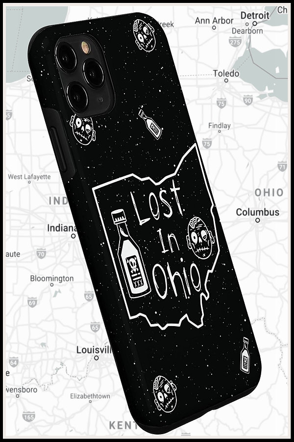 Web Iphone Mobile Phone Case Lost In Ohi