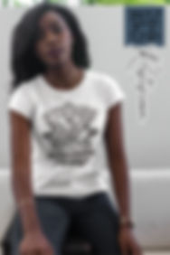 Be-Strong-and-Courageous-t-shirt-mockup-being-worn-by-a-black-young-girl-sitting-down