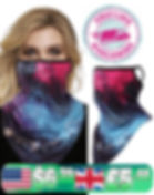 Galaxy-Graphic-Colorful Print-Windproof-Face-Mask