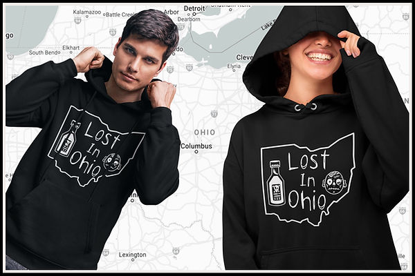 Web Hoodie Lost In Ohio Classic Main Des