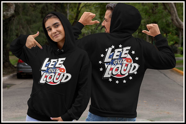 Lee Out Loud American Pride Hoodie Desig