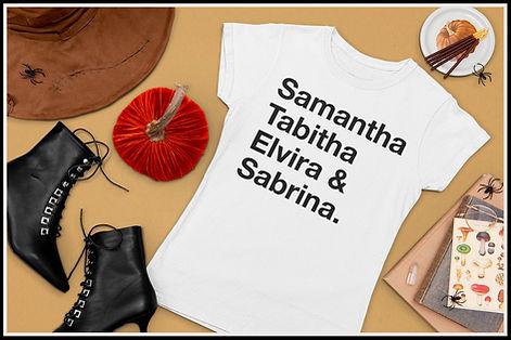 Samantha Tabitha Elvira Sabrina Black Ru