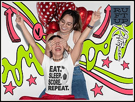 Eat Sleep Score Repeat Football Soccer Ruftup Design