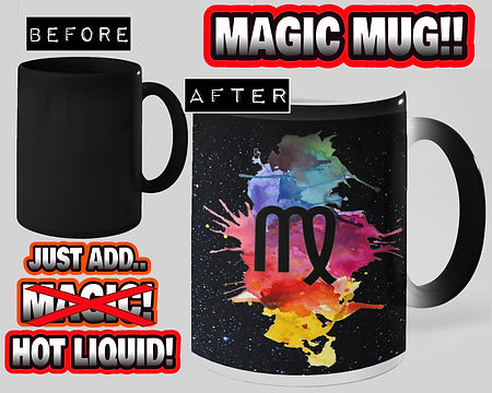 Etsy Store Zodiac Gift Ideas Virgo Magic Mug For Artists Birthday Gift