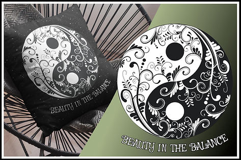 Ruftup Throw Pillow 002 Yin & Yang Beauty In The Balance Ruftup Design Website.jpg