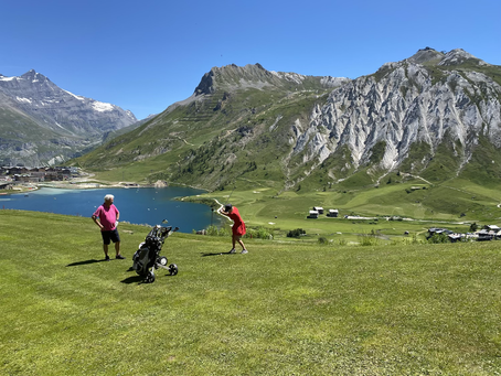 A tignes on y est bien meme en été! Randonnées, VTT, golf, pêche... Il y en a pour tous les goûts!