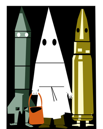 Boo! Trick or Trick When it comes to nukes, the KKK, and the gun lobby, the Trump administration always gives them sweets.