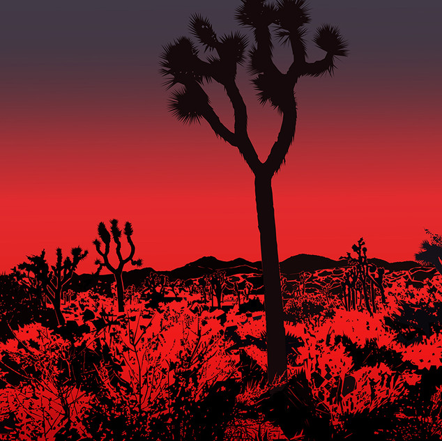 'High Desert' is one piece from an ongoing series of Southern California observations.