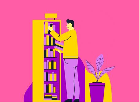 Como organizar seus livros