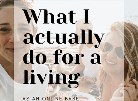 How I created an online business & lifestyle I'm wildly obsessed with