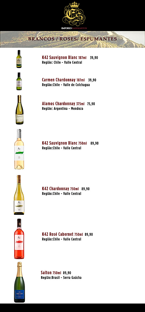 CartaVinhos pg(Branco garrafas pequenas)