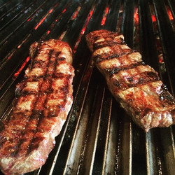 Assado de tira sem osso do Kobe Beef! #parrilla #assadodetira #kobebeef #wagyu #carnestopehaqui _the