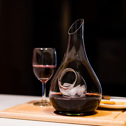 Handcrafted Wine Decanter