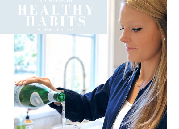 Six Weeks to Healthy Habits | E-Book