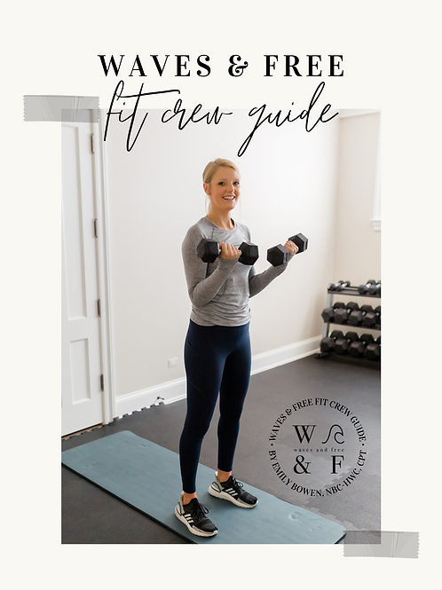 W&F Fit Crew Guide