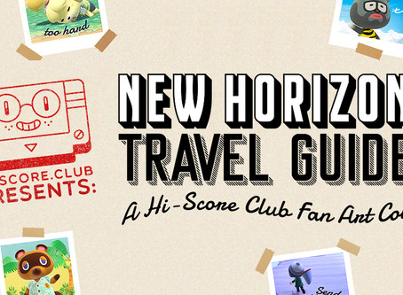 Celebrate your island with a New Horizons Travel Guide!