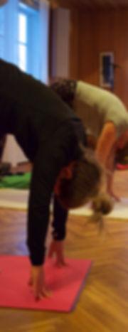 Yogaklass i Unnaryd