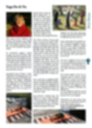 Artikel om Yoga Du & Nu i Unnaryds Bygdebladen