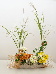 20180508 II Autumn basket upright bamboo