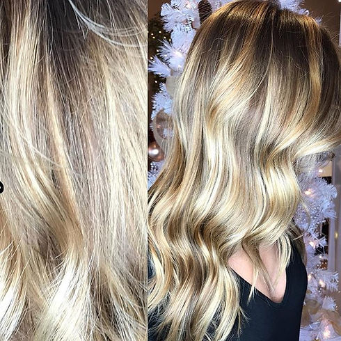 Painted perfection by our _hairbyadrianh