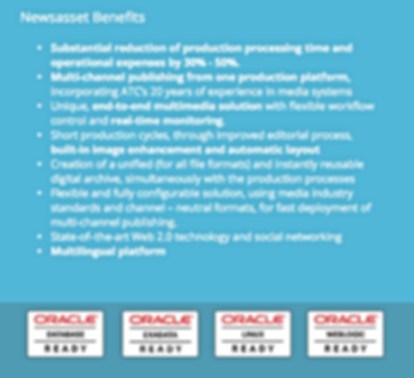 Newsasset benefits