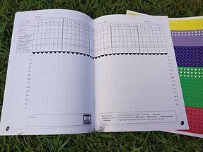 menstrual cycle charting book
