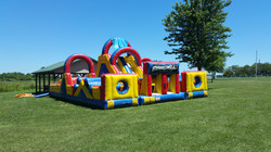 Our obstacle course