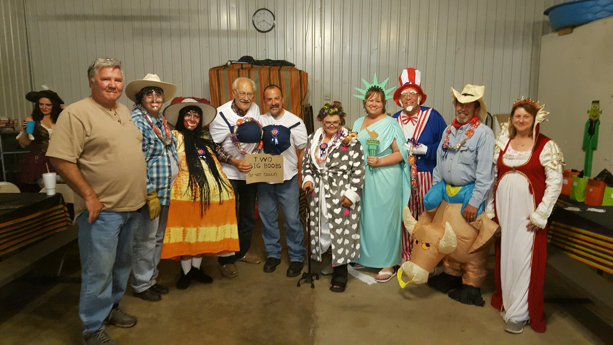 Costume Winners 2016