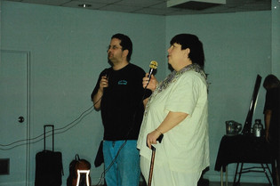 John Cox and Carol Woodworth