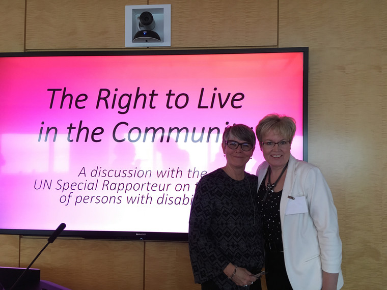 The Right to Live in Community