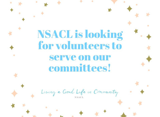 NSACL is Looking for Volunteers for our Committees!