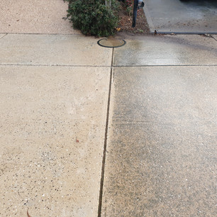 Pavement and Concrete Clean Before and After