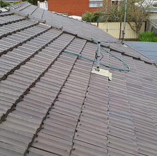 Cleaned Tiled Roof, Geelong